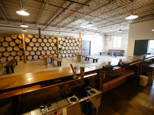 Opening in April, the Shumrick-Leys Distillery produces