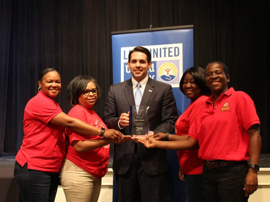 Kellogg's representative with United Way of West Tennessee