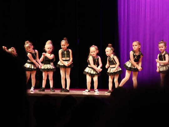 Dance routines included jazz, tap, ballet, hip hop,