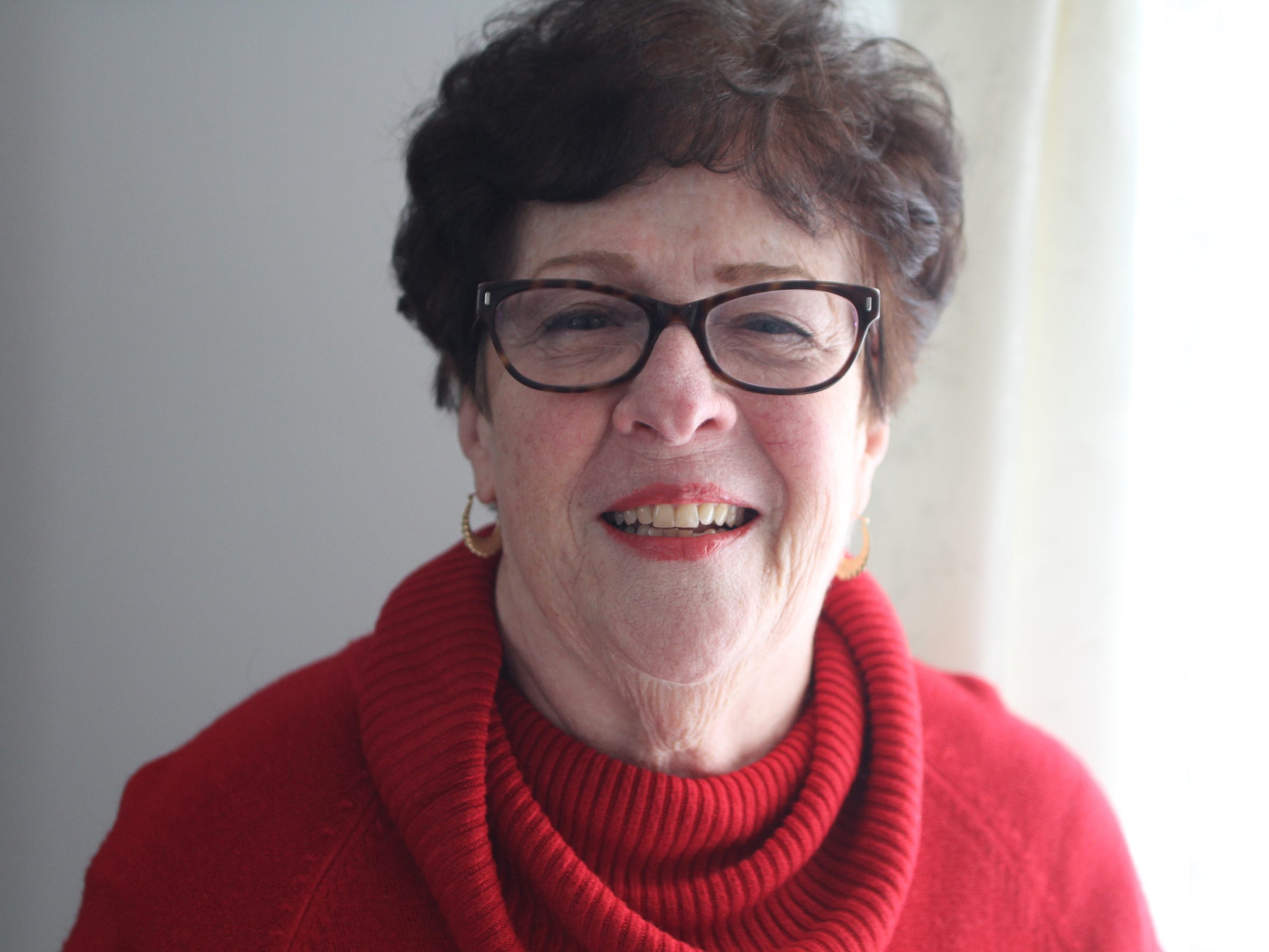 Diana Simpson, 74, of Leonardo is a longtime Republican