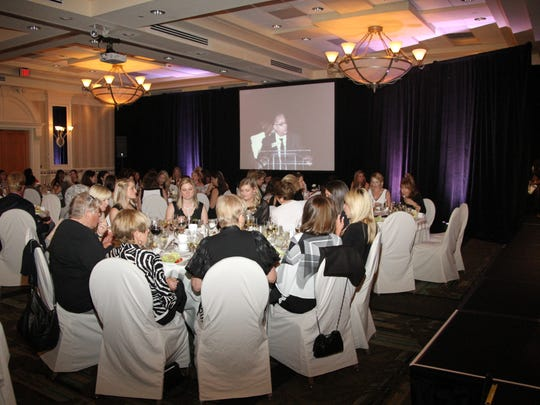 At a Fashion Night in Black & White, attendees are asked to wear their finest black and white cocktail attire. Dinner is included and there are live and silent auctions.