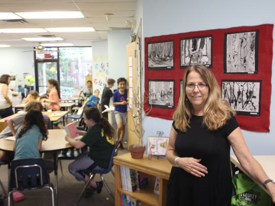 School of Arts and Sciences fourth and fifth grade teacher Kathy Tripp has been teaching in the same classroom for nearly 14 years.