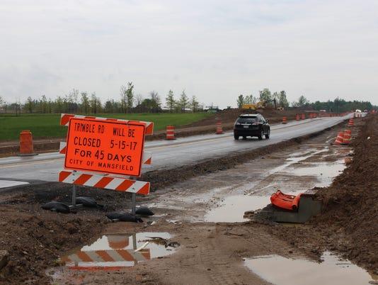 Trimble Road closure