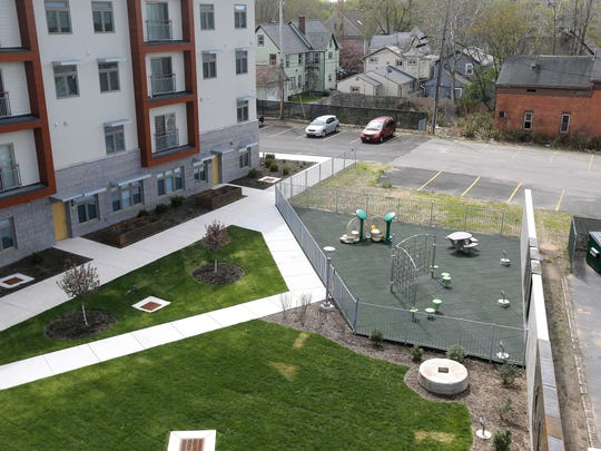Wedgepoint offers a play area for children and a terrace
