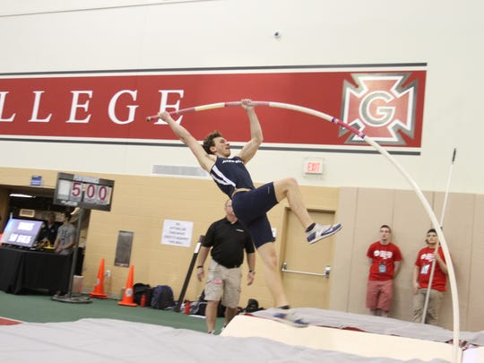 Palmyra Area High School grad Tim Moses will be looking for his eighth All-American award when he competes for Messiah College in the pole vault at the NCAA Division III Track and Field Championships later this month.