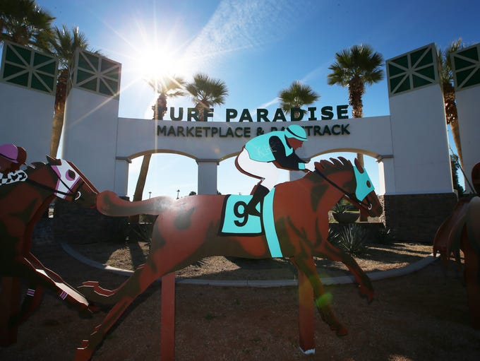 Turf Paradise, a horse racing track at 1501 W. Bell