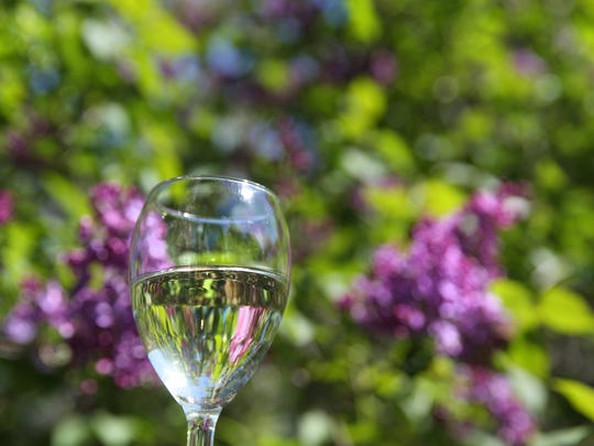 With the smells of blooming lilacs in the air, the Casa Larga Lilac Hill NV is an ideal springtime wine, Wednesday, May 3, 2017 in Irondequoit.