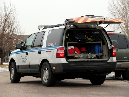 Poudre Fire Authority's RAM 1 unit is used to quickly respond to medical emergencies.