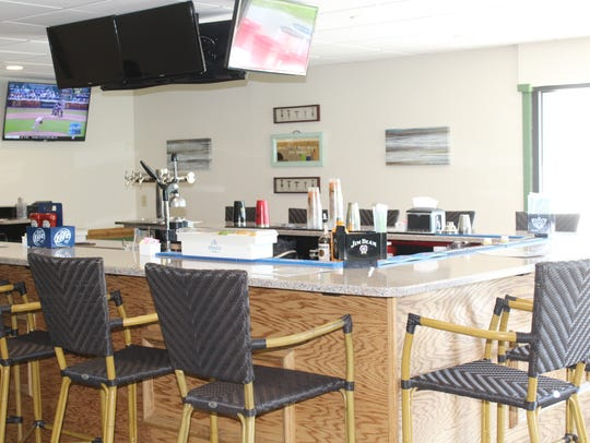 The Tern Grille now features an extended bar.