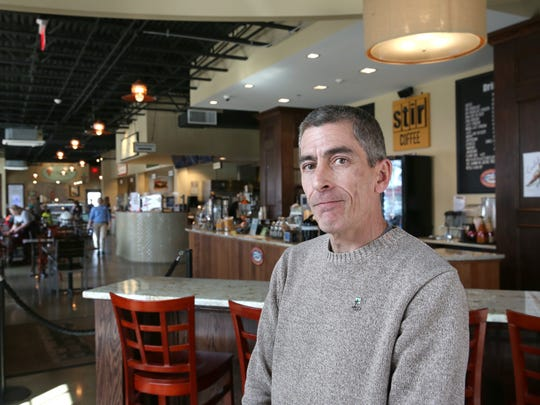 Developer Mike Nolan inside his I-Square facility in Irondequoit.