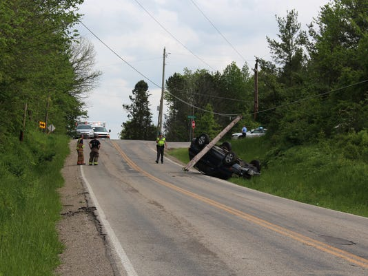 Lexington-Ontario rollover
