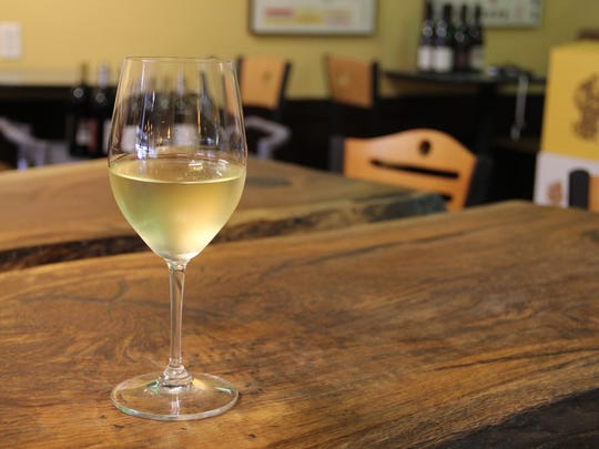 Santiam Wine & Bistro sells wine by the glass as well as bottles. None of the glass pours exceed $9.50.