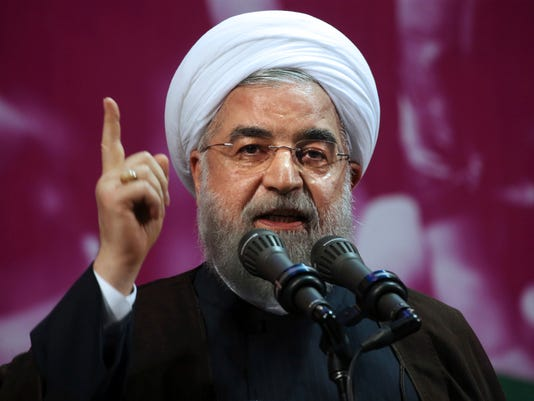 Iranian President Hassan Rouhani File Photo