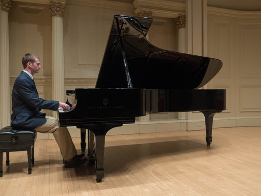 North Hunterdon High School student performs at Carnegie Hall for his second time