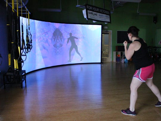 Participants experience new immersive technology at