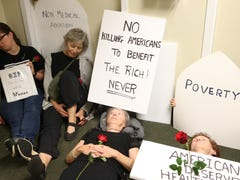 Protesters find Sen. Marco Rubio's office closed