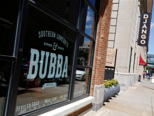 Bubba restaurant in downtown Des Moines.