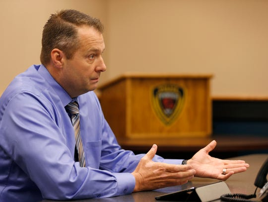 Springfield Police Sgt. Todd King talks about the current