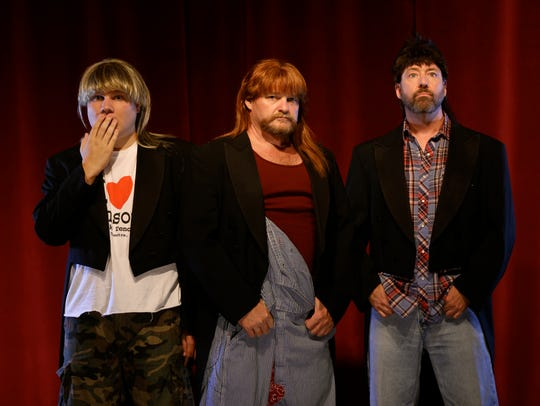 Three Redneck Tenors combines fancy singing with a