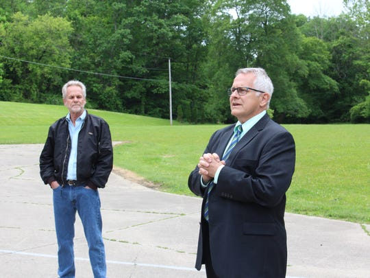 Mayor Tim Theaker discusses a project that could reduce