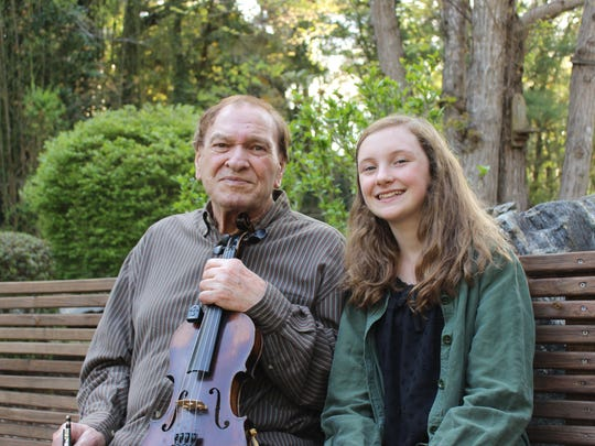 Arvil Freeman has helped mentor Lillian Chase's development as an old-time and bluegrass musician.