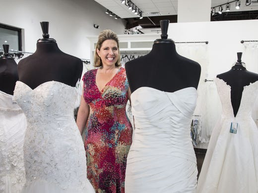Pam Ronalter Started The Almond Tree Wedding Boutique