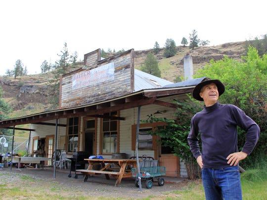 Mike Tillay, owner of Ritter Hot Springs in Eastern
