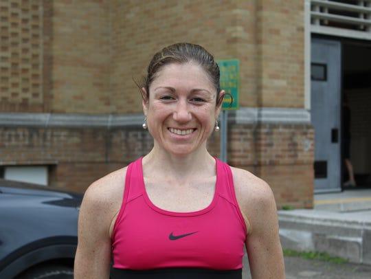 Tara Soraghan, top female finisher in Vestal XX.
