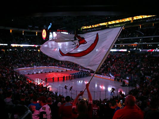 NHL: Washington Capitals at Arizona Coyotes