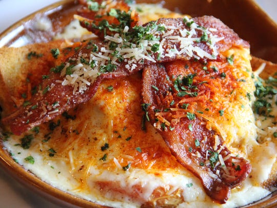 The famous Kentucky Hot Brown.