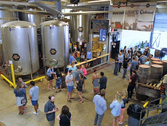 Milwaukee Brewing releases Louie's Resurrection XVII with a party at the brewery.