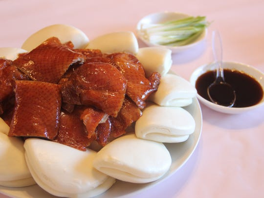 The celebrated Peking duck at Happy Dragon in Independence, prior to its closure this week.