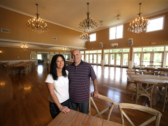 Bear Brook Valley, a new luxury rustic wedding venue in Fredon. ItÕs the second venue opened in recent years after the Rock Island Yacht Club in Sparta, to be created by Boonton Township residents Michele and Perry Bonadies. June 22, 2017. Fredon, NJ.