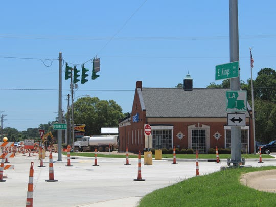 The intersection of Kings Highway and Youree Drive,