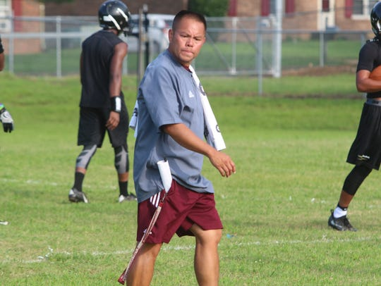 West Creek coach James Figueroa looks to improve on