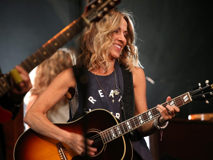 Sheryl Crow performs during the Xerox Rochester International