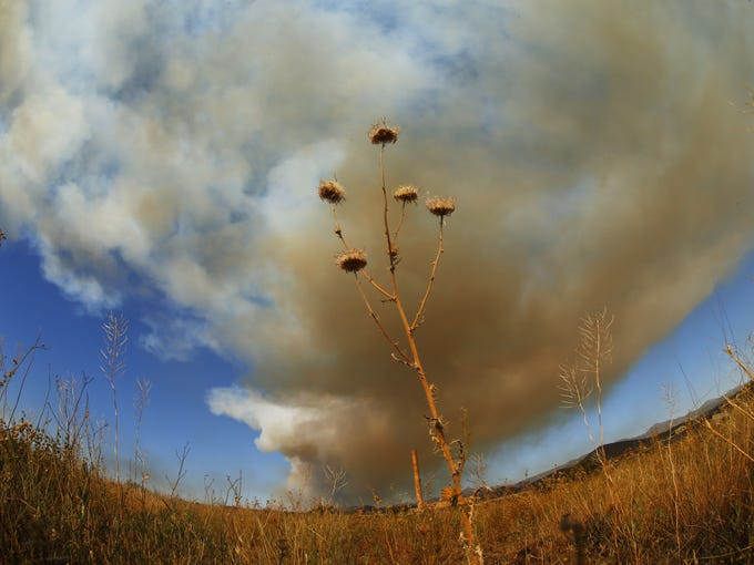 The Goodwin Fire has burned 18,000 acres and crossed