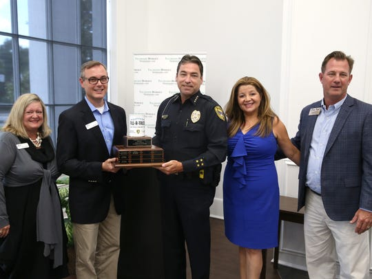 Amwat recognizes the Tallahassee Police Department