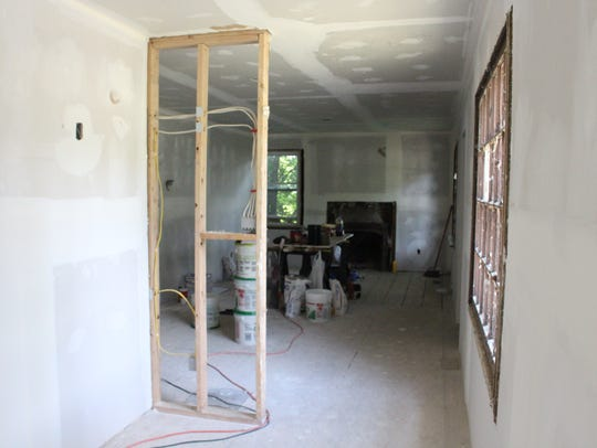 Renovations to a two-bedroom, one-bathroom house at