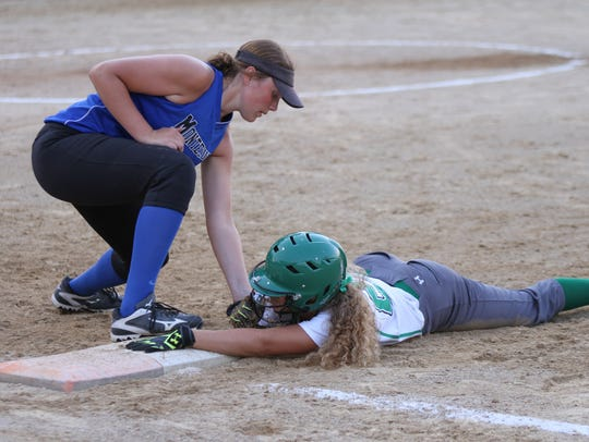 Class 1A-Region 3 High School Softball Finals at Montezuma