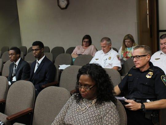 SPD Deputy Chief Bill Goodin, pictured right, said