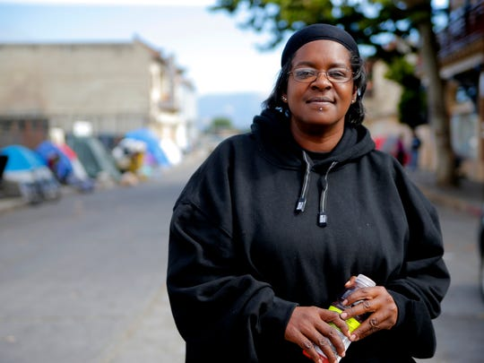 Yolanda Harraway called the streets of Chinatown her home for years.