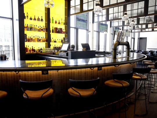 Taverne in the Sky is located on the fifth floor of