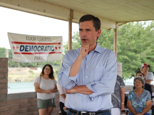 Sen. Martin Heinrich discussed education and healthcare