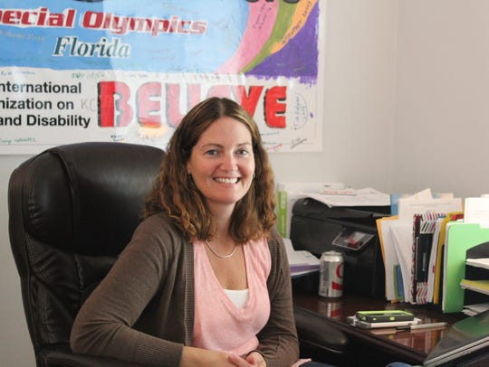 Bridget Hawk is the director of Special Olympics Leon