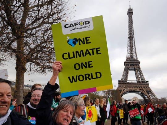 When President Donald Trump pulled the United States out of the Paris Agreement earlier this year, it set off protests. Climate change remains a contentious issue.