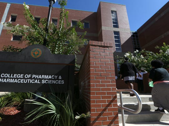FAMU's College of Pharmacy and Pharmaceutical Sciences Pharmacy school celebrated its 65th anniversary last August, culminating with the grand opening of a new $32 million, 74,000-square-foot addition to the school.