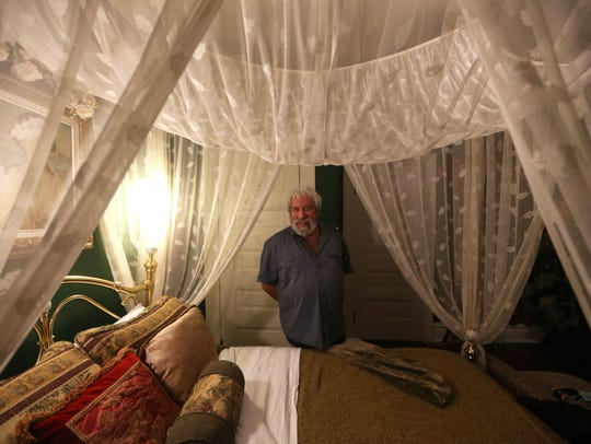 Scott Ebberbach, innkeeper of the Daffodale House in