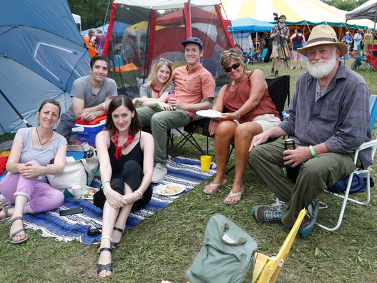 Scenes from GrassRoots Fest in Trumansburg on Saturday.