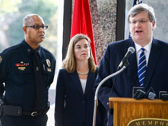 Memphis Police Department Director Michael Rallings